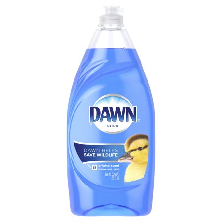 (2 Pack) Dawn Ultra Dishwashing Liquid Dish Soap Original Scent 28 oz