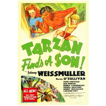 Tarzan Finds a Son Movie Poster (11 x 17)