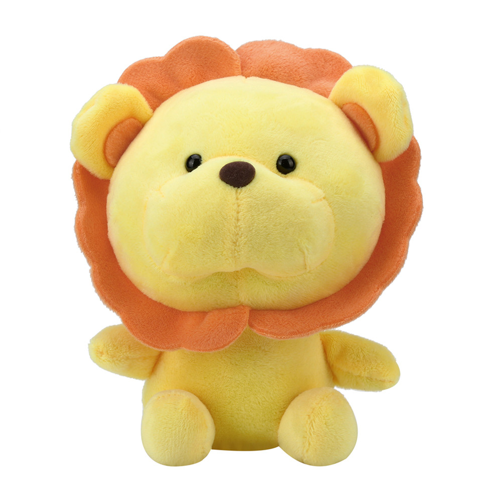 Mosunx Stuffed Toy Soft Baby Doll Lovely Plush Doll Cute Sunflower Lion Toy Baby