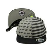 MusclePharm Sportswear Snapback Hat MP Nation Black/Grey