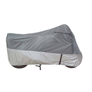 GUARDIAN ULTRALITE PLUS MOTORCYCLE COVER XL - GRAY/SILVER
