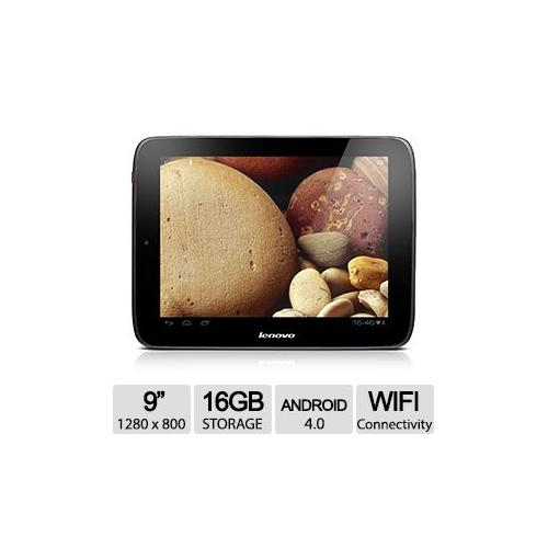 "Refurbished Lenovo A2109 9"" Android 4.0 16GB Tablet - 1GB Memory, 1.2GHz Quad Core, WiFi, Bl"