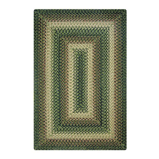 Homespice Decor 732095 13 x 36 in. Northwoods Rectangular Table Runner - Green, Brown - image 1 of 1