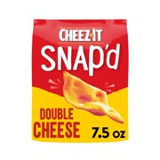Cheez-It, Cheesy Baked Snacks, Double Cheese, 7.5 Oz