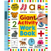 Wipe Clean Activity Books: Wipe Clean: Giant Activity Workbook (Other)