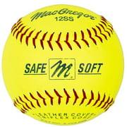 "(12 Pack) MacGregor Safe/Soft 11"" Training Softballs"
