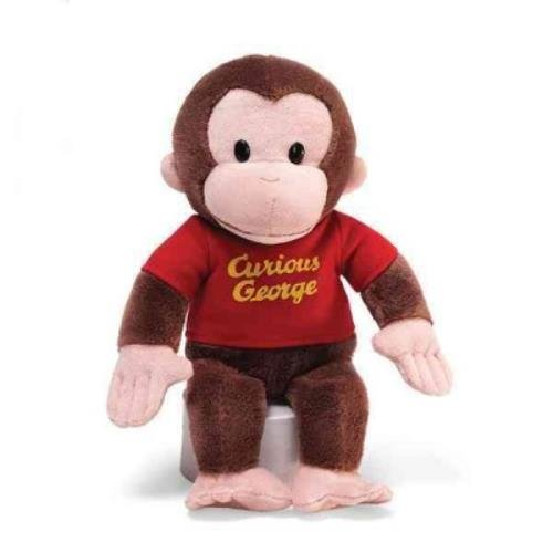 Curious George Stuffed Animal, 12 inches 12\ by