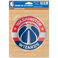 Washington Wizards WinCraft 6'' x 9'' Chrome Magnet