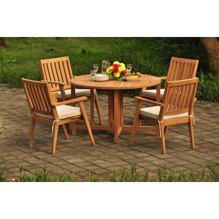 (Teak Dining Set: 4 Seater 5 Pc: 48