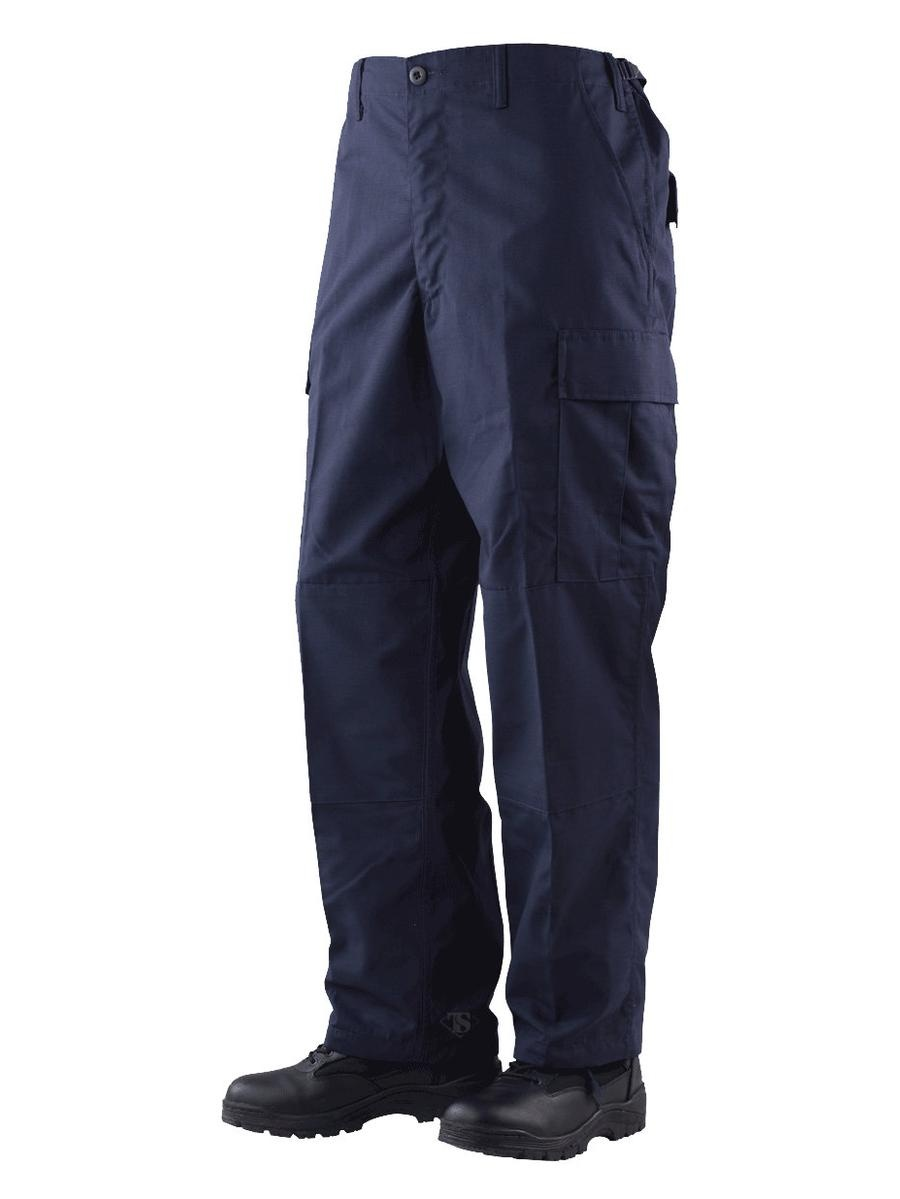 Gen-1 Police BDU Trousers Navy 65/35 Poly, Cotton RS, XSmall Long