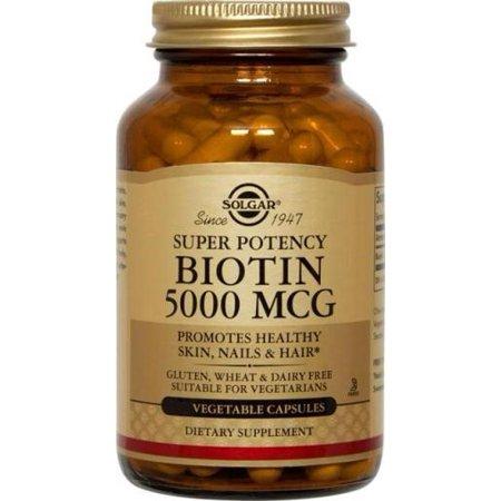 Biotin 5000 mcg Solgar 50 Caps