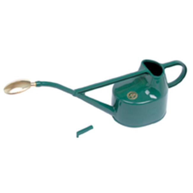 Haws V100 Deluxe Outdoor Plastic Watering Can Green 1. 3 US Gallons by HAWS CORPORATION
