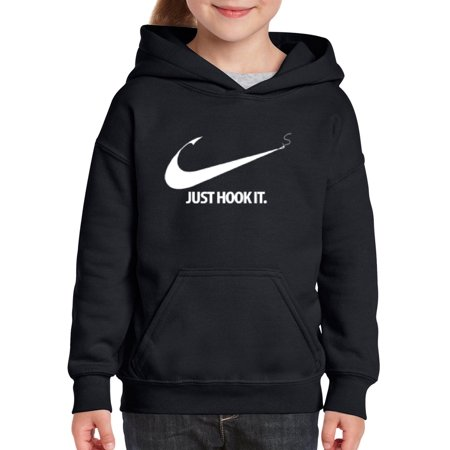 Just Hook It Unisex Hoodie For Girls and Boys Youth Sweatshirt