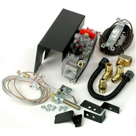 Millivolt Propane - Rasmussen Low Capacity Millivolt Switch Safety Pilot Valve Kit, Propane