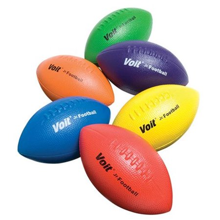 Voit 1243895 Tuff Coated Foam Football, Green