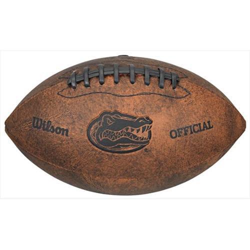 Gulf Coast Sales WTF1528XBFL NCAA Vintage Logo Mini Throwback Design Football - Florida