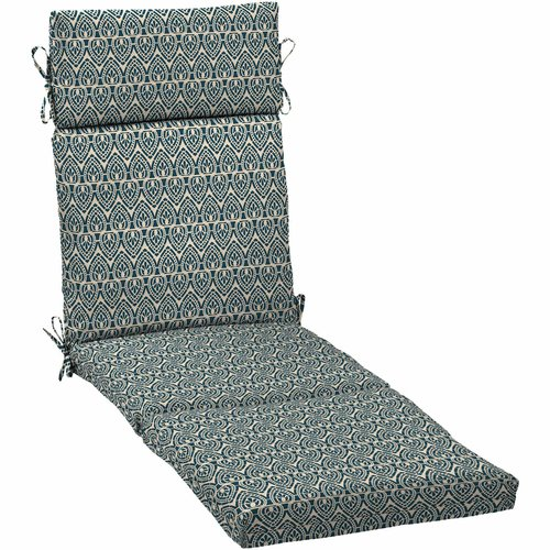 Better Homes and Gardens Outdoor Patio Chaise Lounge Cushion, Multiple Patterns