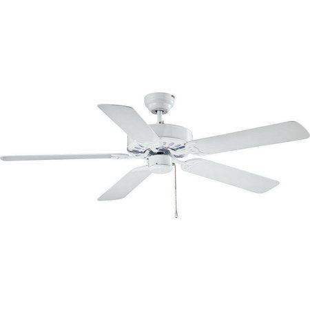 Boston Harbor 52-CASA-ES-EN-WH Dual Mount Ceiling Fan,