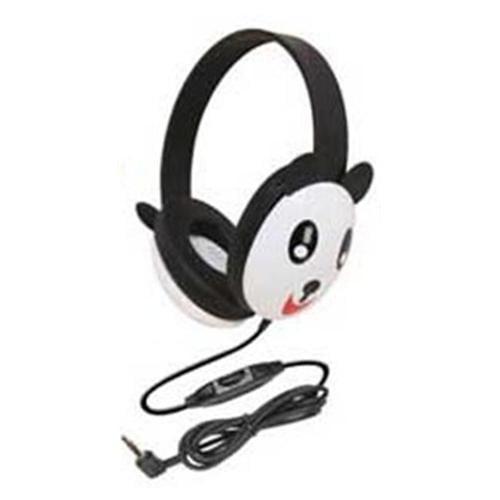 Califone International 2810-PA Listening First Animal Headphones - Panda
