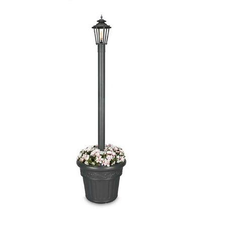 Williamsburg Citronella Flame Planter Lantern-Finish: Iron Textured, Number of Lamp Flames:1