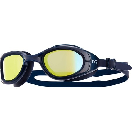 Special OPS 2.0 Polarized Goggles, Silver/Clear, One Size, 100% Silicone By TYR