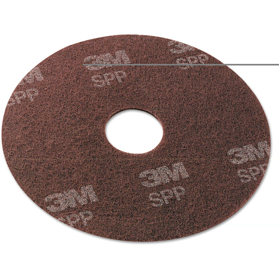 "3M Maroon 19"" SurfAce Preparation Pads, 10 count"