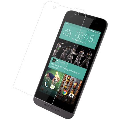 REIKO HTC DESIRE 520 TEMPERED GLASS SCREEN PROTECTOR IN CLEAR