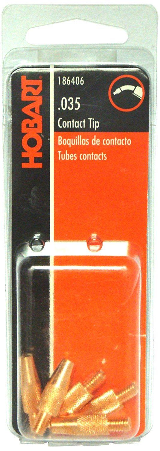 186406 Contact Tip, 0.035 M5 by 0.8mm Thread, 0.035 M5 X 0.8mm Thread By Hobart by
