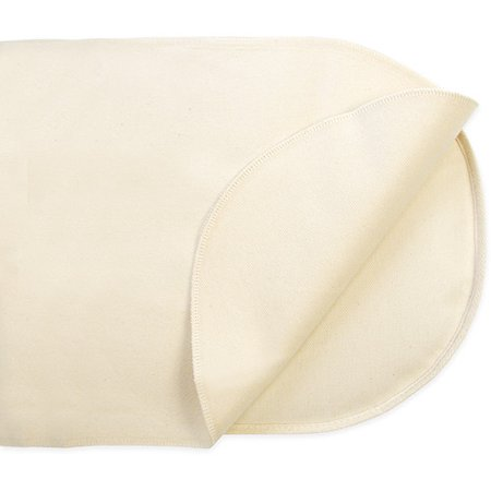 Naturepedic PB64W Organic Waterproof Mattress Pad Size: Bassinet (Flat Oval)
