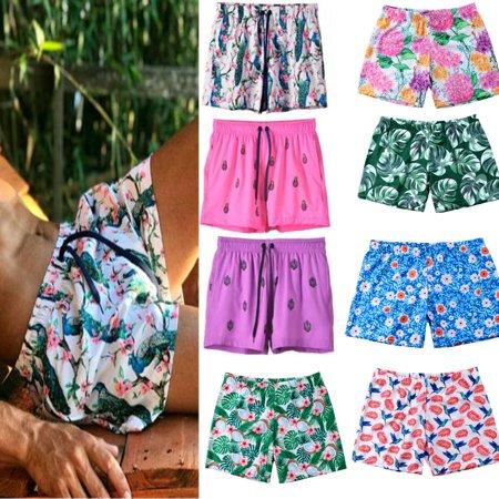 - New Swimwear Men's Sexy Hot Boxers Swimming Cool Trunks Swim Shorts Beach Pants
