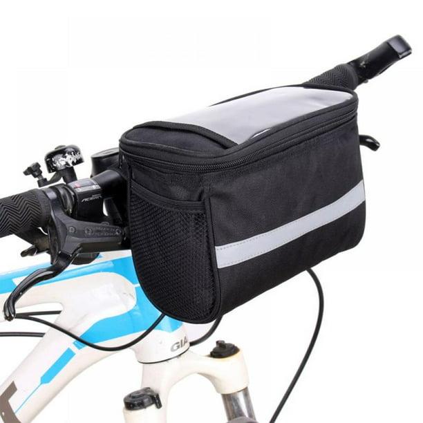 Bike Handlebar Bag Bicycle Pannier Front Tube Basket Outdoor Sports Cycling Bag