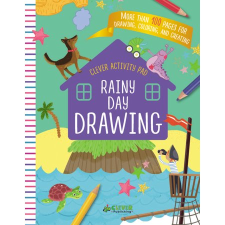 100 Day Activities (Rainy Day Drawing : More than 100 pages for drawing, coloring, and)
