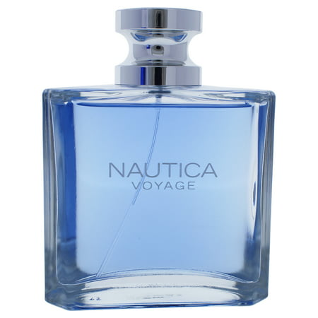 Nautica Voyage Eau de Toilette Spray, Cologne for Men, 3.4 fl oz