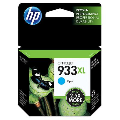 HP 933XL High Yield Cyan Original Ink Cartridge (Hp 933xl Ink Cartridges)