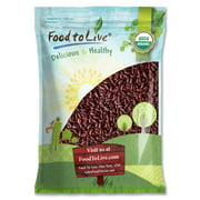 Food to Live Certified Organic Dark Red Kidney Beans (Non-GMO