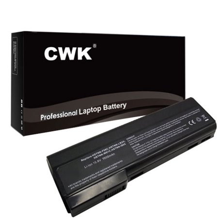 Capacity Notebook Battery (CWK 9 Cell High Capacity Laptop Notebook Battery for HP ProBook 30919-421 HSTNN-W81C QK639AA QK640AA QK642AA QK643AA 6360B 6360T 6460B 6465B 6560B 6565B 6360b 6460b 6465b 6560b 6565b )