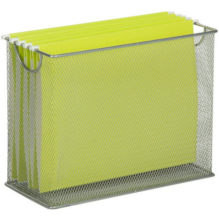 Honey Can Do Table Top Mesh Hanging File Organizer, -