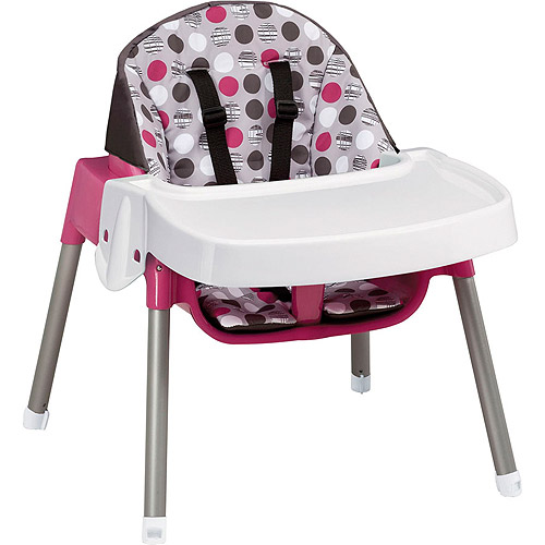 Baby High Chair Convertible Play Table Seat Feeding Tray 3 In 1