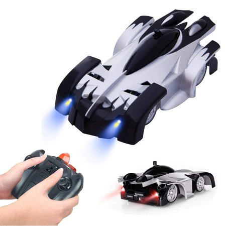 SZJJX Toy Wall Climber Climbing RC Car Home Vehicle Radio Control Mini Zero Gravity Remote Control Car Kids Electric Toy RC Vehicle Stunt Car