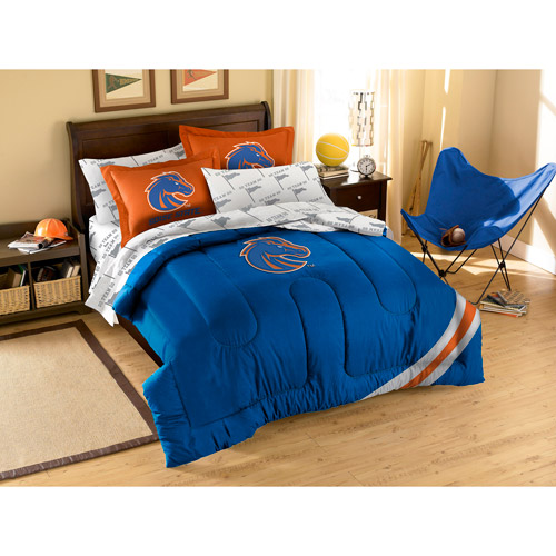 NCAA Boise State Anthem Series 4-Piece Bedding Comforter Set
