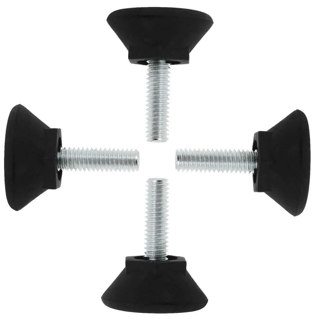 M6 x 20 x 25mm Adjustable Leveling Feet Floor Protector for Table Leg 4pcs - image 7 of 7