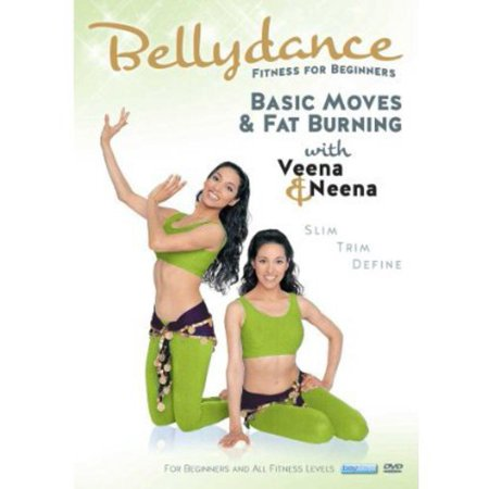 Bellydance Twins: Fitness for Biginners - Basic Moves and Fat BurningWith Veena and Neena (DVD)](Arab Bellydance)