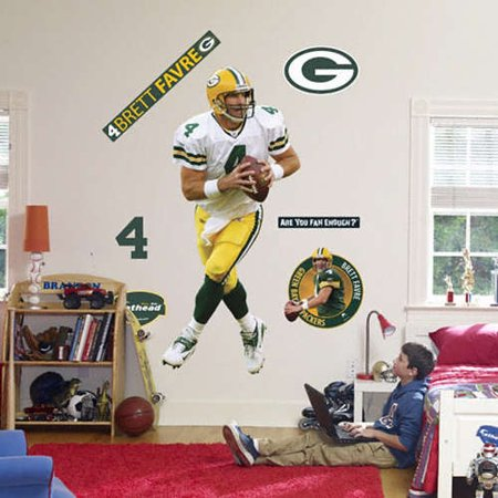 Brett Favre Green Bay Packers Fathead