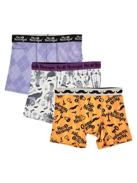 Handcraft Hello Neighbor, Boys Underwear, 3 Pack Athletic Boxer Briefs (Big Boys)