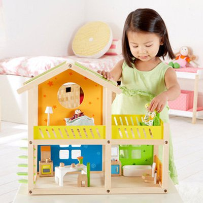 Hape Toys Happy Villa Dollhouse
