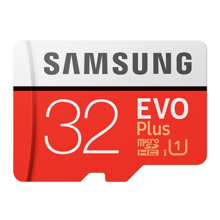 SAMSUNG Memory Storage Card 32GB/64GB/128GB/256GB 95MB/S 4K Class10 Micro SD Cards Red Plus U3 32GB ()