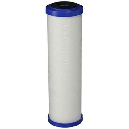 "Pentek 655130-43 DFX-CB-10 10"", 10 Micron Diamond Flow Polyspun / Carbon Block Water Filter Cartridge"