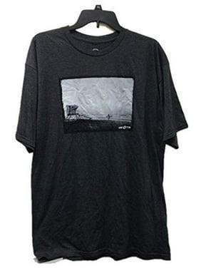 Hang Ten Men's Graphic t Shirt (L, Charcoal)