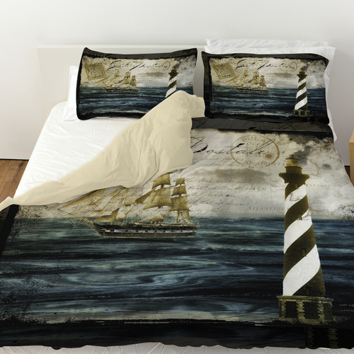 Manual Woodworkers & Weavers Timeless Voyage 2 Duvet Cover
