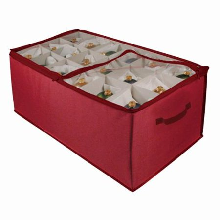 Richards Homewares Holiday Ornament Storage Cube with 54 Individual Compartments ()